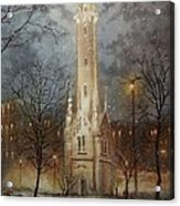 Old Water Tower Milwaukee Acrylic Print