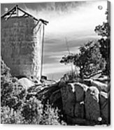 Old Water Tower Acrylic Print