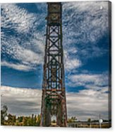 Old Welland Lift Bridge 3d07057hp Acrylic Print