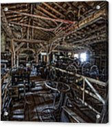 Old West Wagon Storage And Shop Acrylic Print