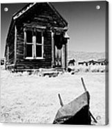 Old Wheelbarrow Acrylic Print