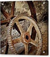 Old Wheels Acrylic Print by Odd Jeppesen