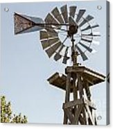 Old Windmill In Antique Color 3009.02 Acrylic Print