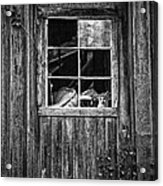 Old Window Acrylic Print by Garry Gay