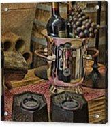 Old Wine Acrylic Print