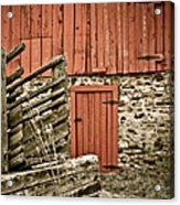 Old Wood Acrylic Print