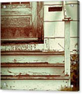 Old Wooden Porch Acrylic Print