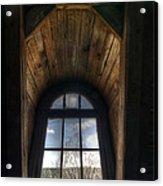 Old Wooden Window Acrylic Print