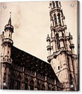 Old World Grand Place Acrylic Print