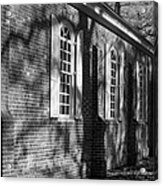 Old Wye Church Wye Mills Acrylic Print