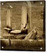 Olde Graves Acrylic Print