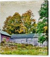 Olde Homestead On Rt 105 Acrylic Print