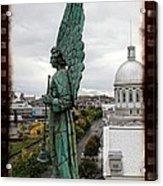 Olde Montreal Angel Acrylic Print
