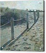 Olde Worlde Beach Acrylic Print