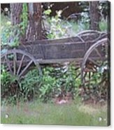 Olden Days Acrylic Print