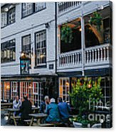 Oldest Coaching Inn In London Acrylic Print
