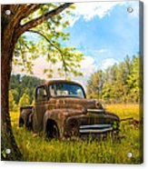 Oldie Goldie Acrylic Print