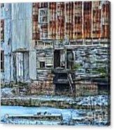 Oldmill Acrylic Print by Tamera James
