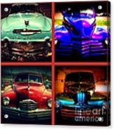 Oldtimer Collage Acrylic Print