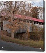 Oldtown Covered Bridge Acrylic Print