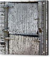 Ole Barn Door Acrylic Print