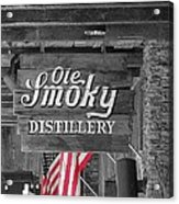Ole Smoky Distillery Acrylic Print by Dan Sproul