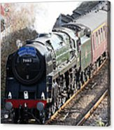 Oliver Cromwell Arrives In Lincoln Acrylic Print