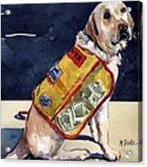 Oliver Rocks The Vest Acrylic Print