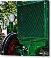 Oliver Tractor Acrylic Print