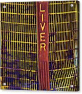 Oliver Twisted Acrylic Print