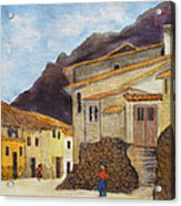 Ollantaytambo Acrylic Print