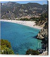 Oludeniz Beach Acrylic Print