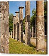 Olympia Ruins Acrylic Print