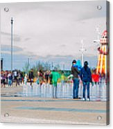 Olympic Park - Reopening Acrylic Print
