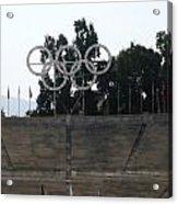 Olympic Rings Acrylic Print