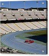 Olympic Stadium Barcelona Acrylic Print