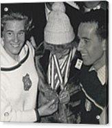 Olympic Winter Games 1964 In Innsbruckaustria 3 Gold-medal Acrylic Print