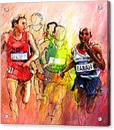 Olympics 10000m Run 01 Acrylic Print
