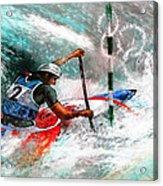 Olympics Canoe Slalom 02 Acrylic Print