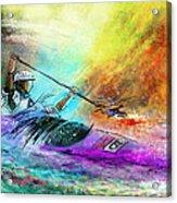 Olympics Canoe Slalom 03 Acrylic Print