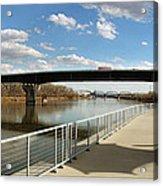 Omaha The Riverfront Acrylic Print