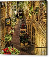 Omaha's Old Market Passageway Acrylic Print
