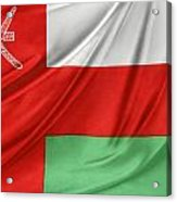 Oman Flag Acrylic Print