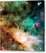 Omega Swan Nebula 2 Acrylic Print