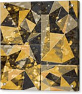 Omg Modern Triangles II Acrylic Print