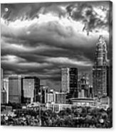 Ominous Charlotte Sky Acrylic Print by Chris Austin