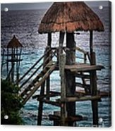 On 2 -ready-hut Hut Acrylic Print