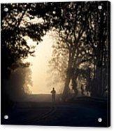 On A Morning Jog Acrylic Print