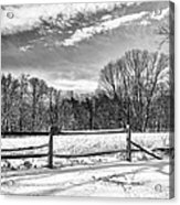 On A Winters Day Acrylic Print