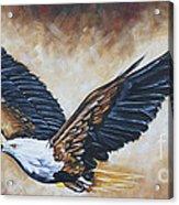 On Eagle's Wings Acrylic Print